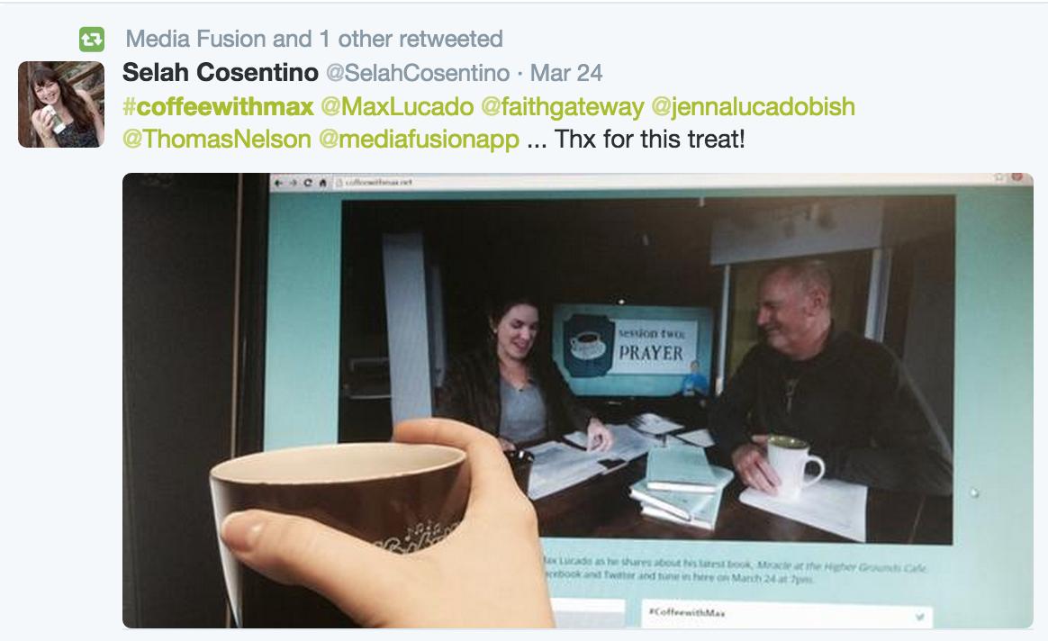 Coffee with Max screenshot