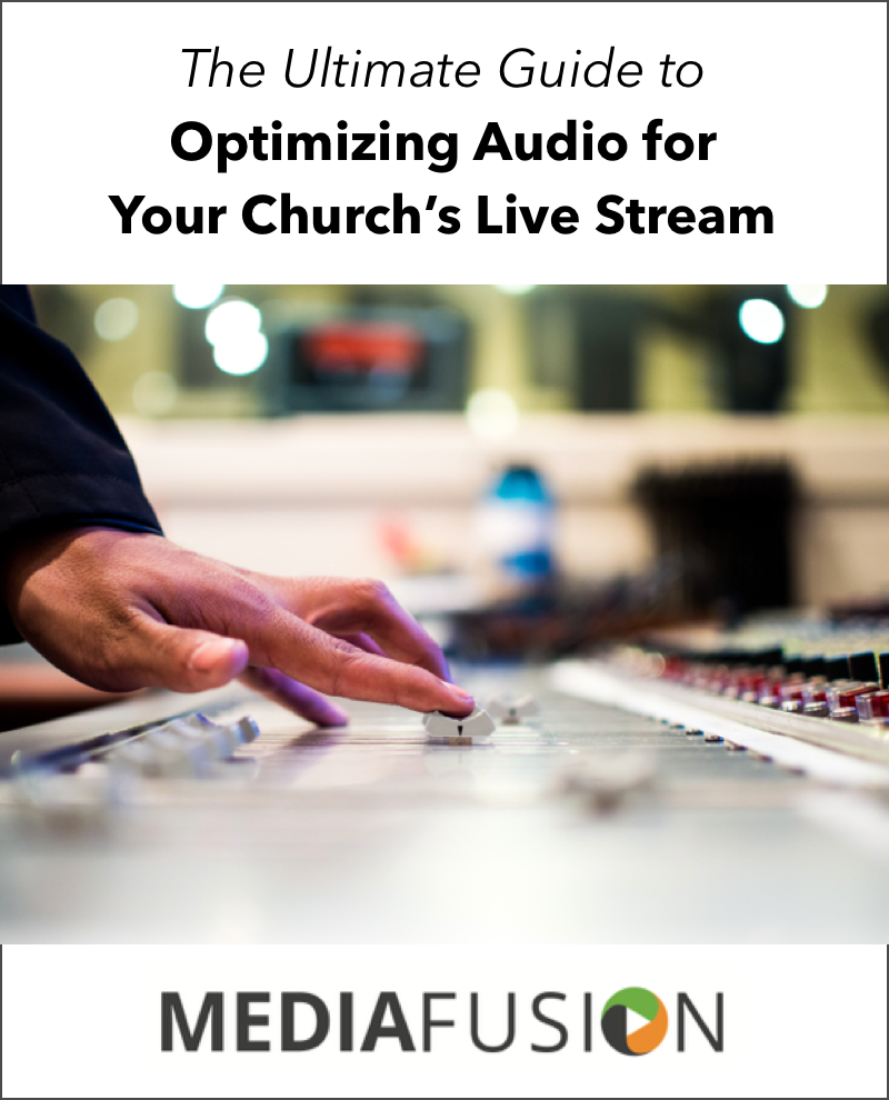 Optimizing Audio for Live Streaming